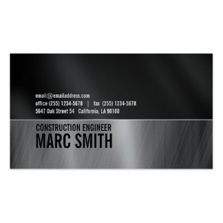 Papel industrial del platino de la tarjeta de tarjetas de visita
