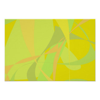 Papel pintado amarillo poster