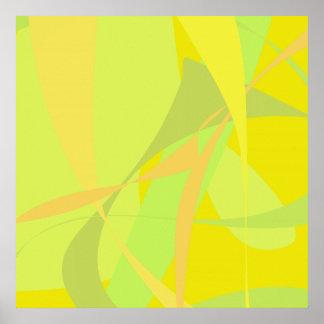 Papel pintado amarillo impresiones