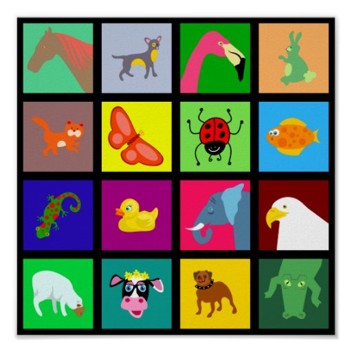 Papel pintado animal de la teja impresiones