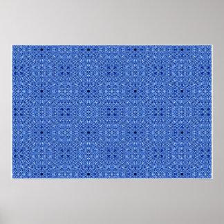 Papel pintado azul posters