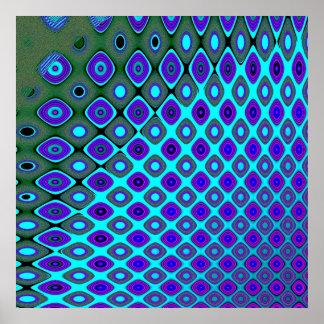 Papel pintado de fusión póster