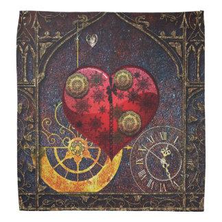 Papel pintado de los corazones de Steampunk del Bandana