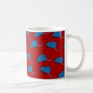 Papel pintado del campañol taza de café