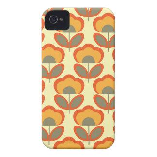 Papel pintado floral funda para iPhone 4 de Case-Mate