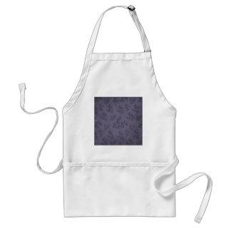 Papel pintado púrpura del vintage delantal