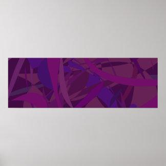 Papel pintado púrpura posters