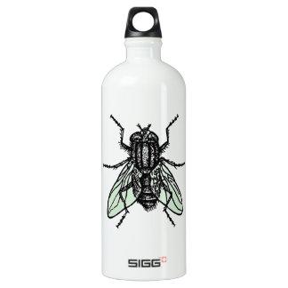 Papel pintado silencioso botella de agua