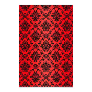 Papel rojo barroco del libro de recuerdos del Vict Papelería Personalizada