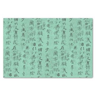 Papel seda asiático coloreado personalizado de la