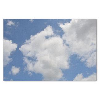 Papel seda caprichoso de la nube