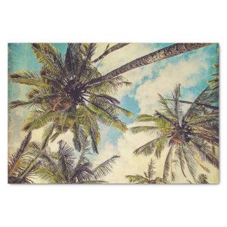 Papel seda de la palmera de los Cocos de Kauai