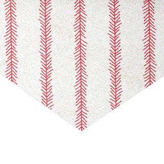 Papel seda de la puntada del béisbol