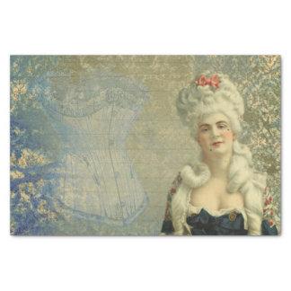 Papel seda de señora Corset del Victorian de