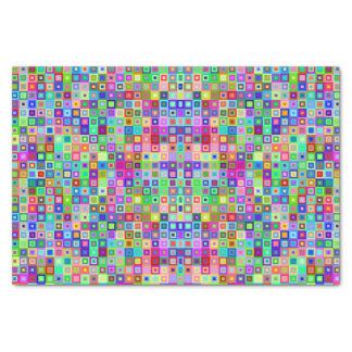 Papel seda decorativo colorido