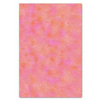 Papel seda del diseño de la pluma de las rosas