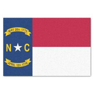 Papel seda patriótico con la bandera Carolina del
