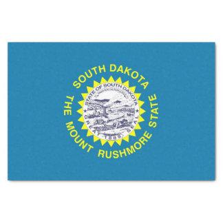 Papel seda patriótico con la bandera Dakota del