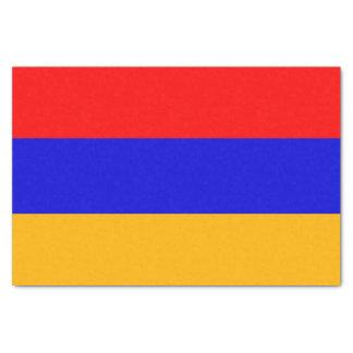 Papel seda patriótico con la bandera de Armenia
