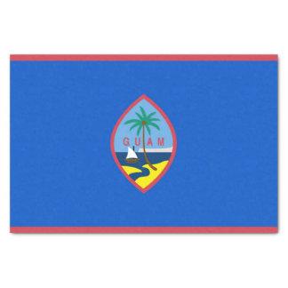 Papel seda patriótico con la bandera de Guam