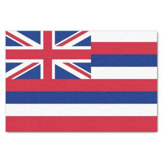 Papel seda patriótico con la bandera de Hawaii