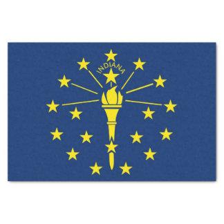 Papel seda patriótico con la bandera de Indiana