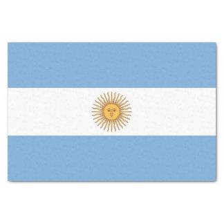 Papel seda patriótico con la bandera de la