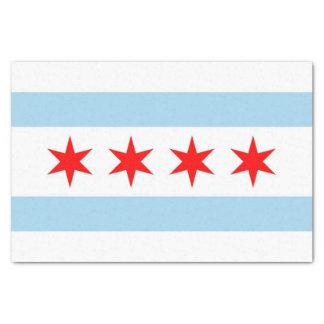 Papel seda patriótico con la bandera de la ciudad