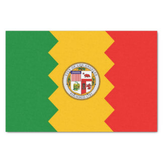 Papel seda patriótico con la bandera de Los