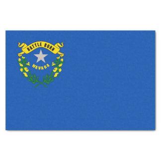 Papel seda patriótico con la bandera Nevada, los
