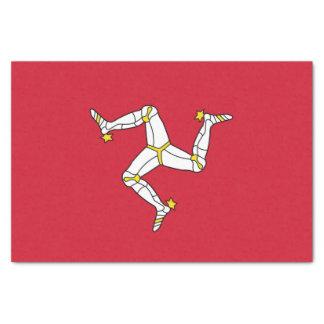 Papel seda patriótico con la isla de la bandera