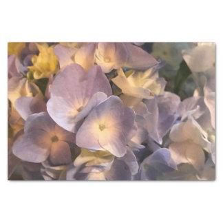 Papel seda púrpura de la flor