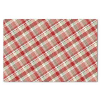 Papel seda rojo festivo del día de fiesta de la