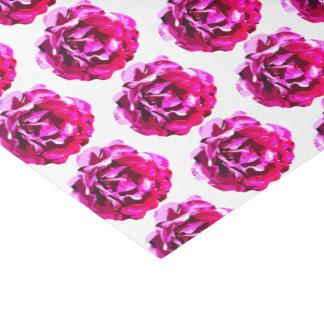 Papel seda subió camelia rosada magnífica de