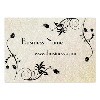 Papel viejo grabado en relieve negocio de la tarje tarjeta de visita