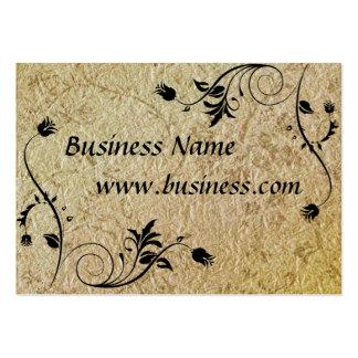 Papel viejo grabado en relieve negocio de la tarje plantillas de tarjetas de visita