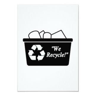 Papelera de reciclaje comunicados personales