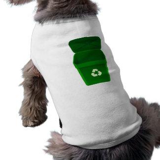 Papelera de reciclaje camisa de perrito