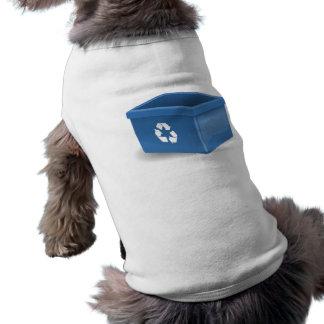 Papelera de reciclaje camisas de mascota