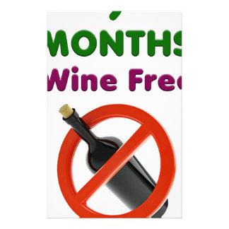 Papelería 9 meses de vino liberan, mamá embarazada, regalo