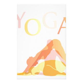 Papelería Actitudes de la yoga