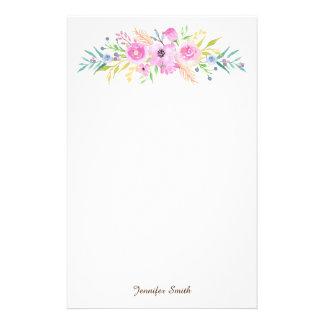 Papelería Acuarela floral
