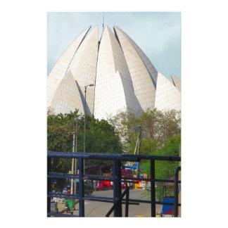 Papelería Adoración de la casa de Nueva Deli la India Bahá'í