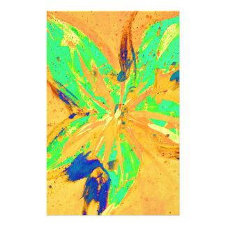 Papelería Amarillo ácido del lavado de Santa Fe