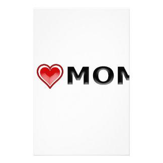 Papelería Amo a mi mamá