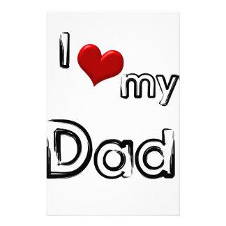 Papelería amo a mi papá