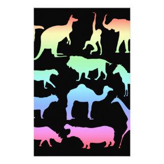 Papelería Animales salvajes