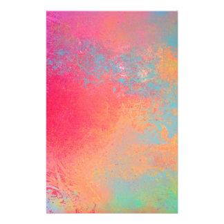 Papelería Arte pulverizador abstracto POP color