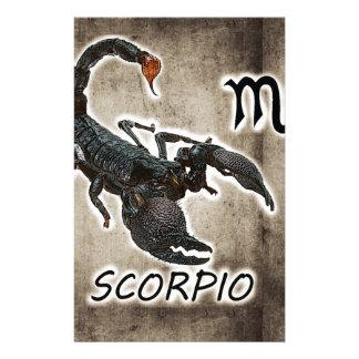 Papelería astrología 2017 del escorpión
