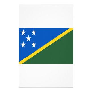 Papelería ¡Bajo costo! Bandera de Solomon Island